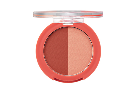 One Touch Duo Blusher 04 Rosy BonFire